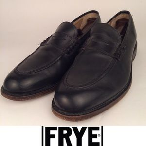 FRYE Penny Loafers. Genuine leather